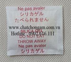 Gói hút ẩm 5gr lụa đỏ chữ Nhật